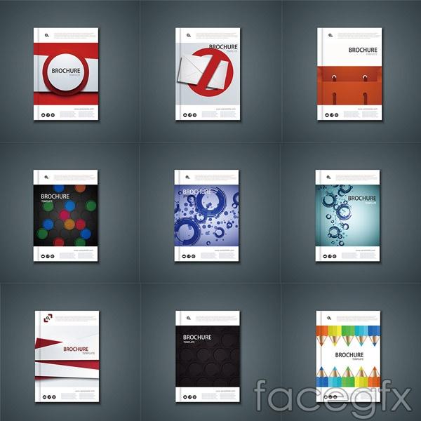 D fashion album design vector