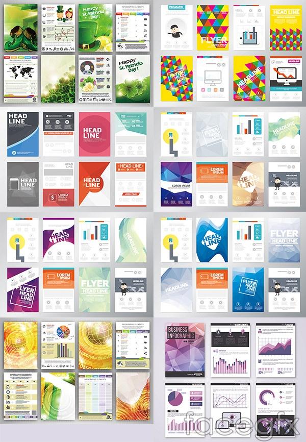 Fashion book fold vector