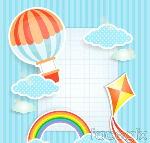 Sky clip art vector