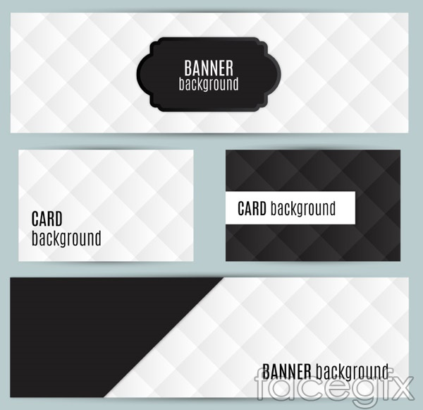 Diamond-shaped banner vector