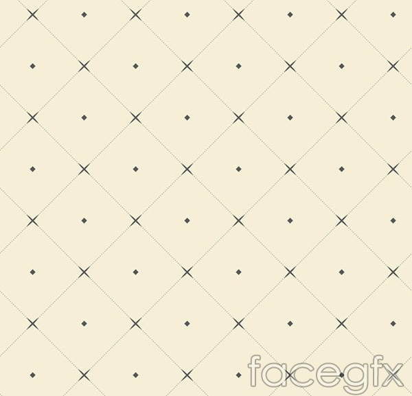 Simple but elegant diamond backgrounds vector