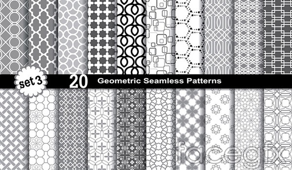 Fashion black and white background vector