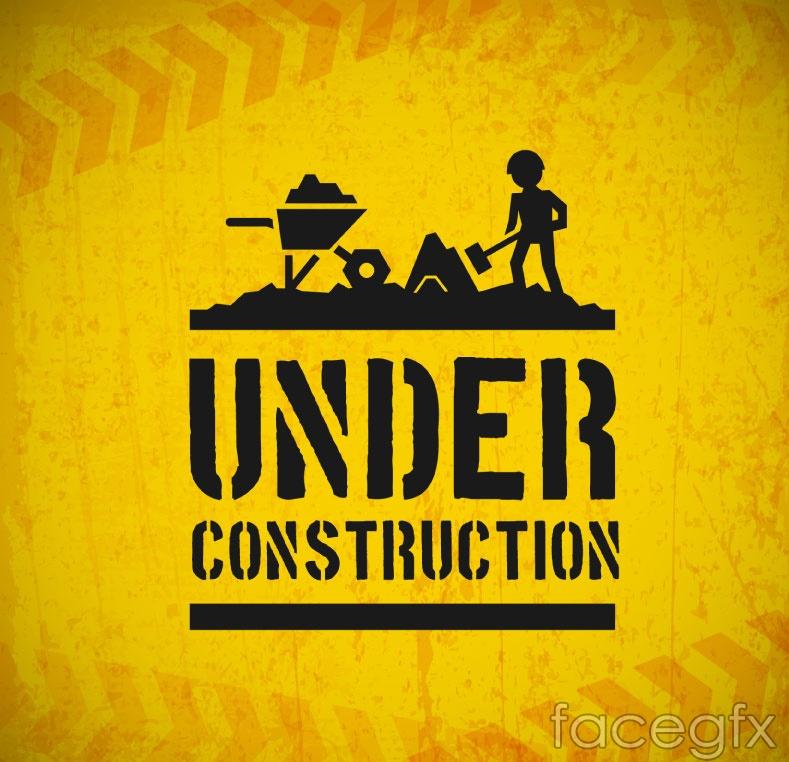 Construction of creative logo vector