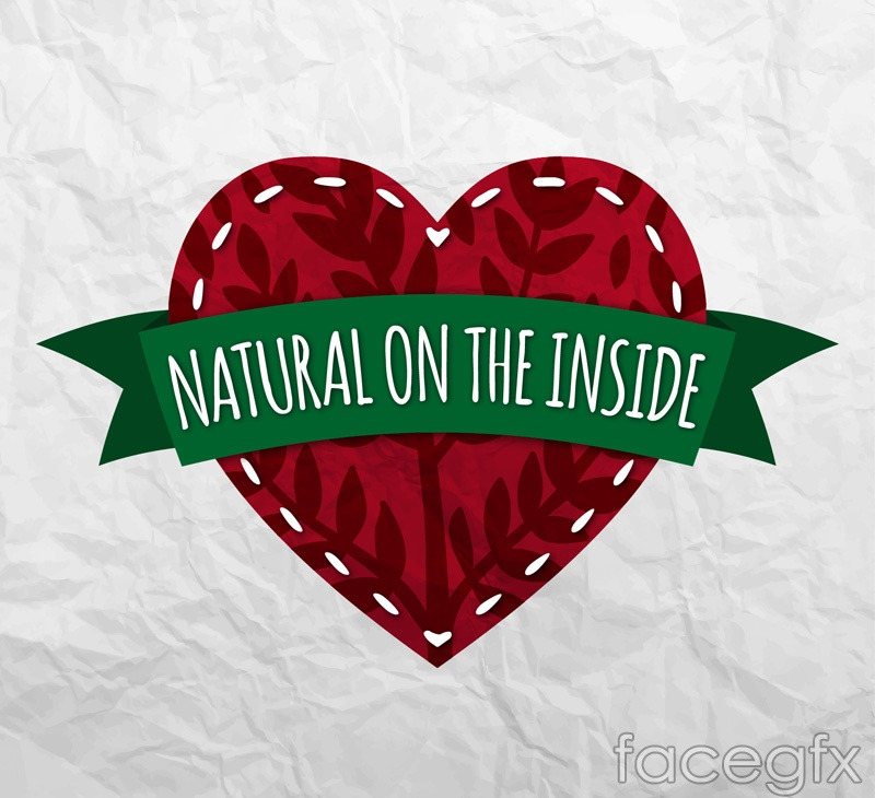 Love the natural vector