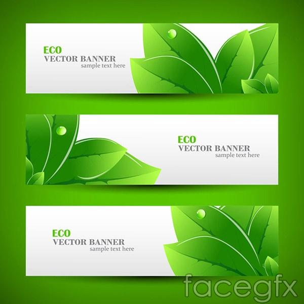 The environmental protection BANNER vector