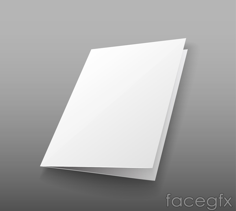 Blank page 20 percent card vector