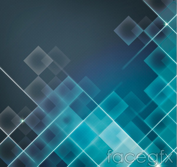 Light square background vector
