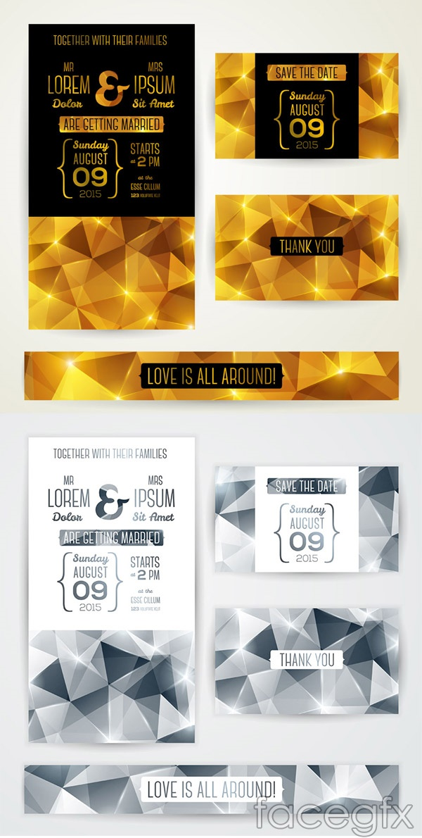 Fashion publicity leaflet vector