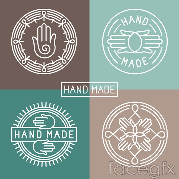 Fashion hand icon vector