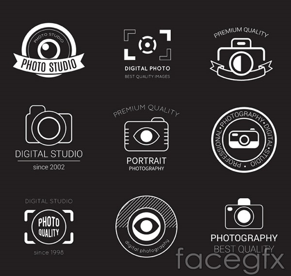 Photography Studio logo vector