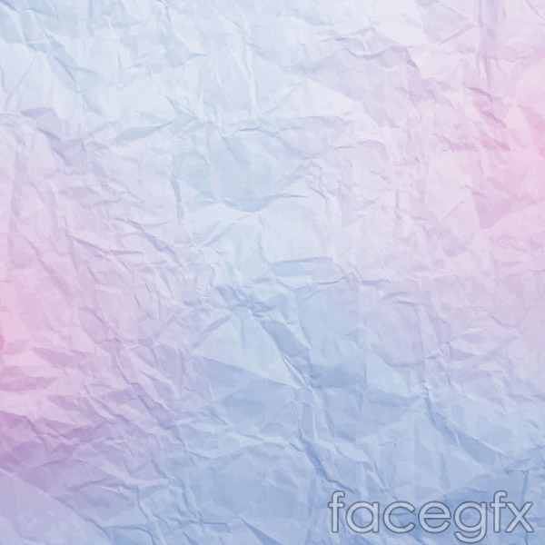Fold paper background vector