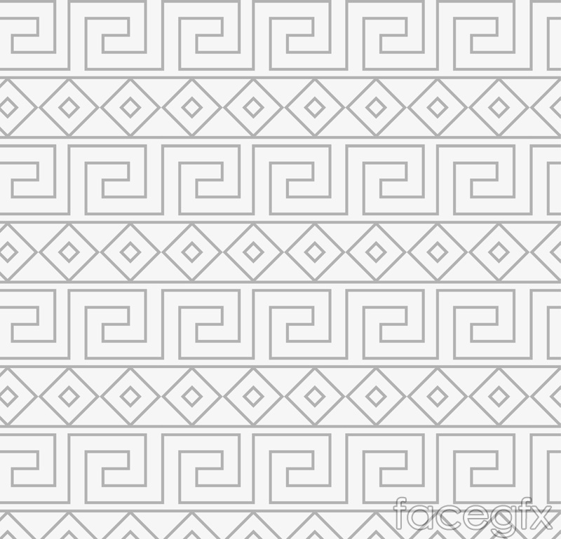 Gray pattern vector background