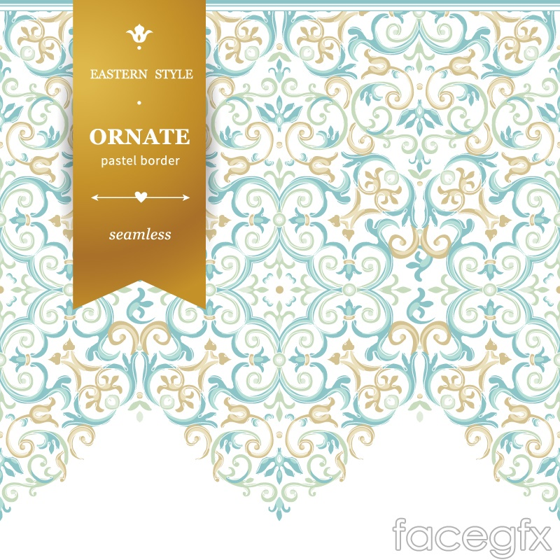 Light blue watercolor background pattern vector