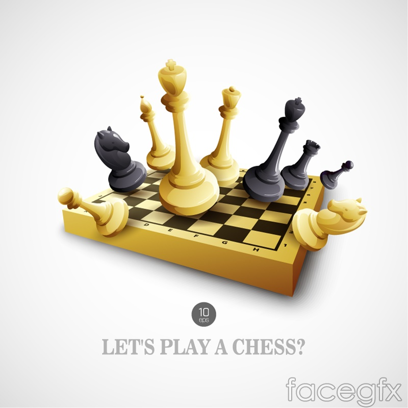 Beautiful chess vector
