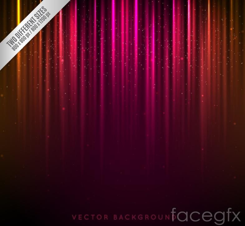 Stylish neon backgrounds vector