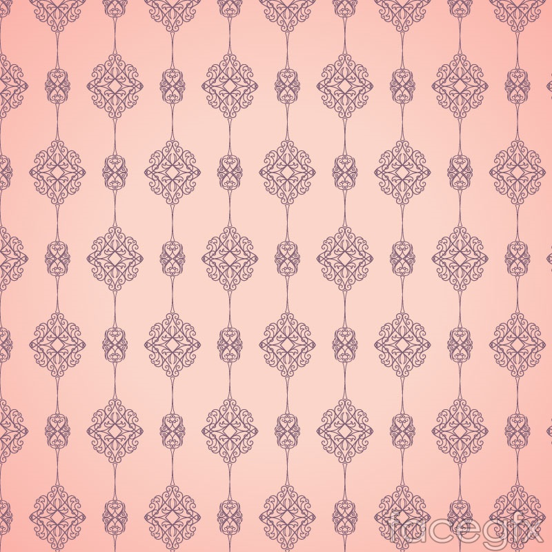 Foundation pattern seamless vector background