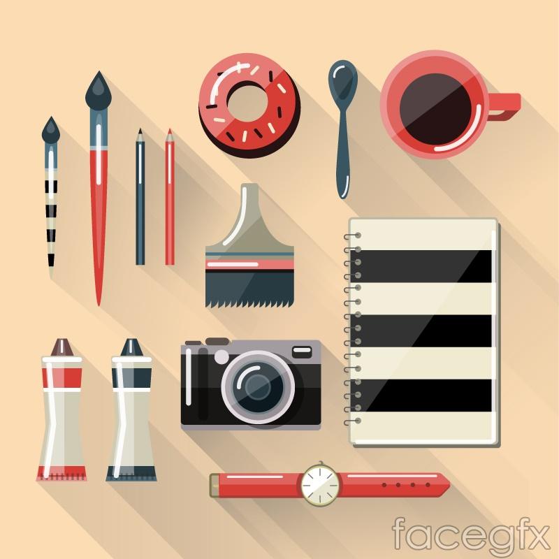 13 cartoon design vector