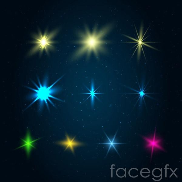 Dream spot light vector
