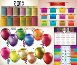 2015 is not year calendar vector