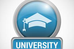 Metal College logo vector