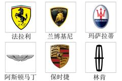 World's top car logo vector