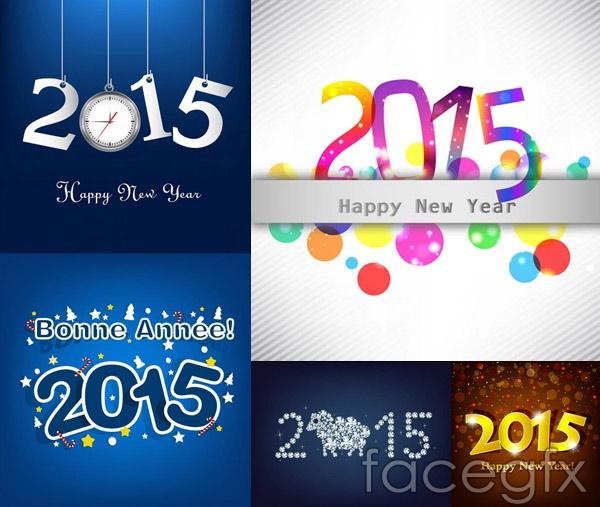 2015 digital theme vector