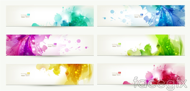 Creative Printing Banner Vector Free Download