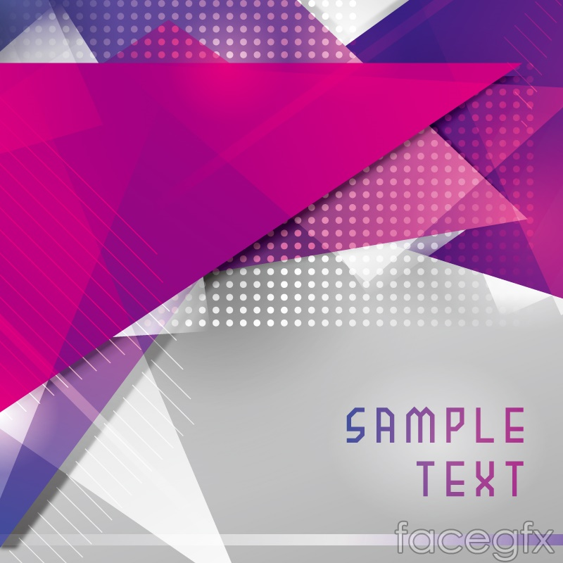 fantasy rose red triangular background vector free download
