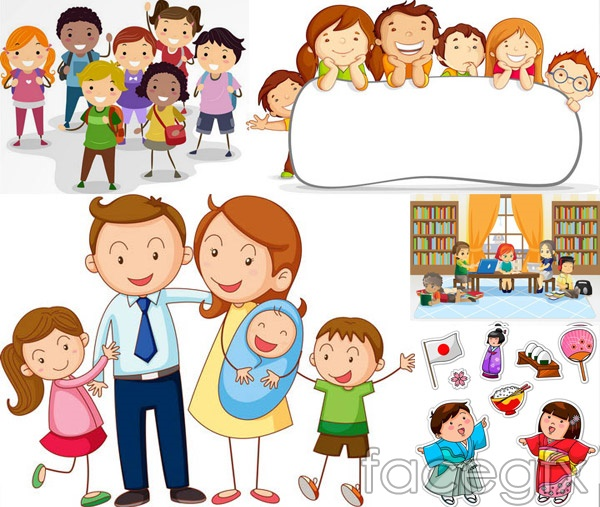 Cute Student Vector For Free Download | Free Vector
