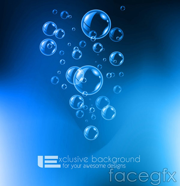 Drinking purified water ads vector