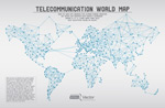 Information and network map vector