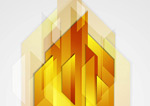 Combination polygon background vector