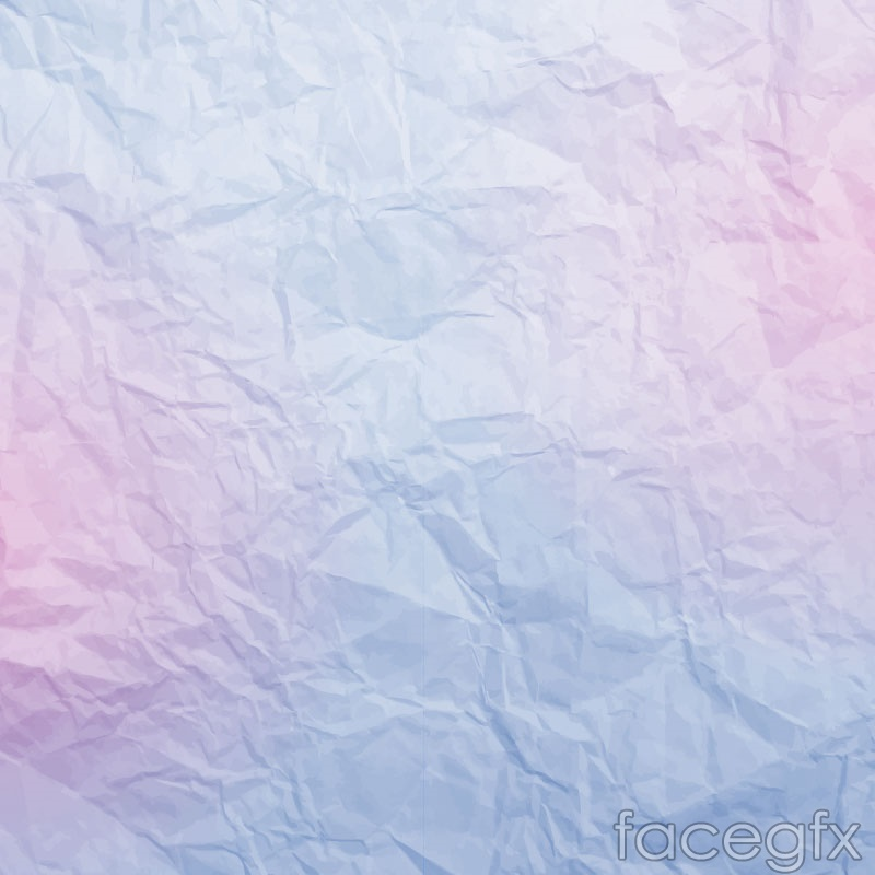 Color fold paper background vector