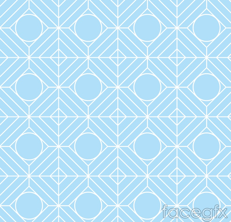 Pale blue patterned, seamless vector background