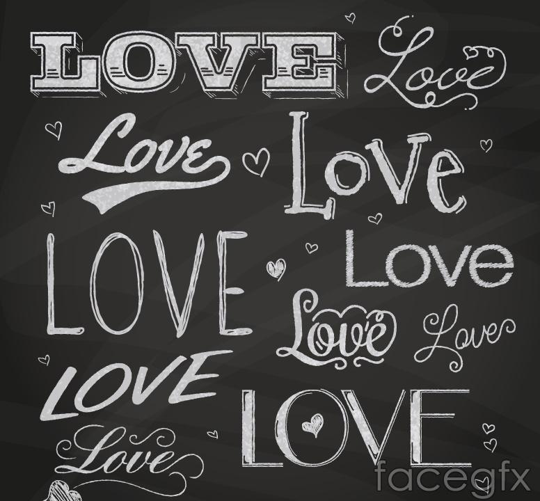 11 love LOVE art vector