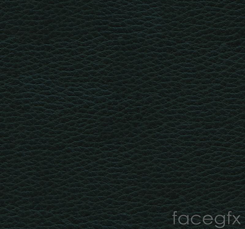 Black leather grain background vector