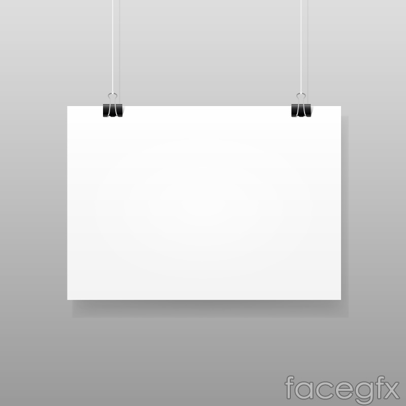 Pick up a blank cardboard vector