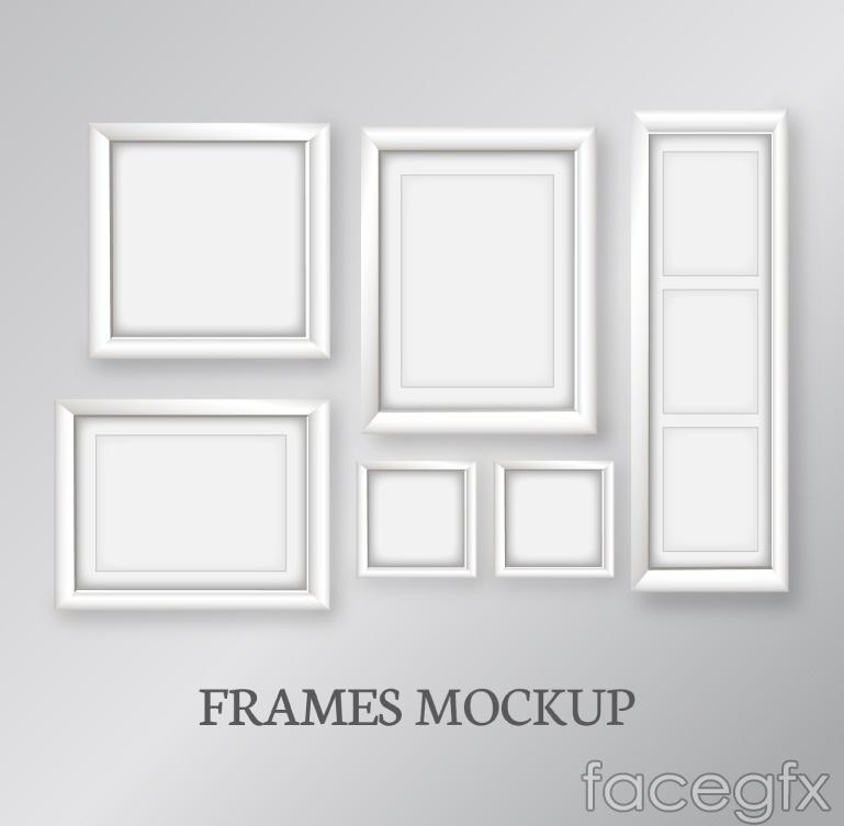 White size box design vector