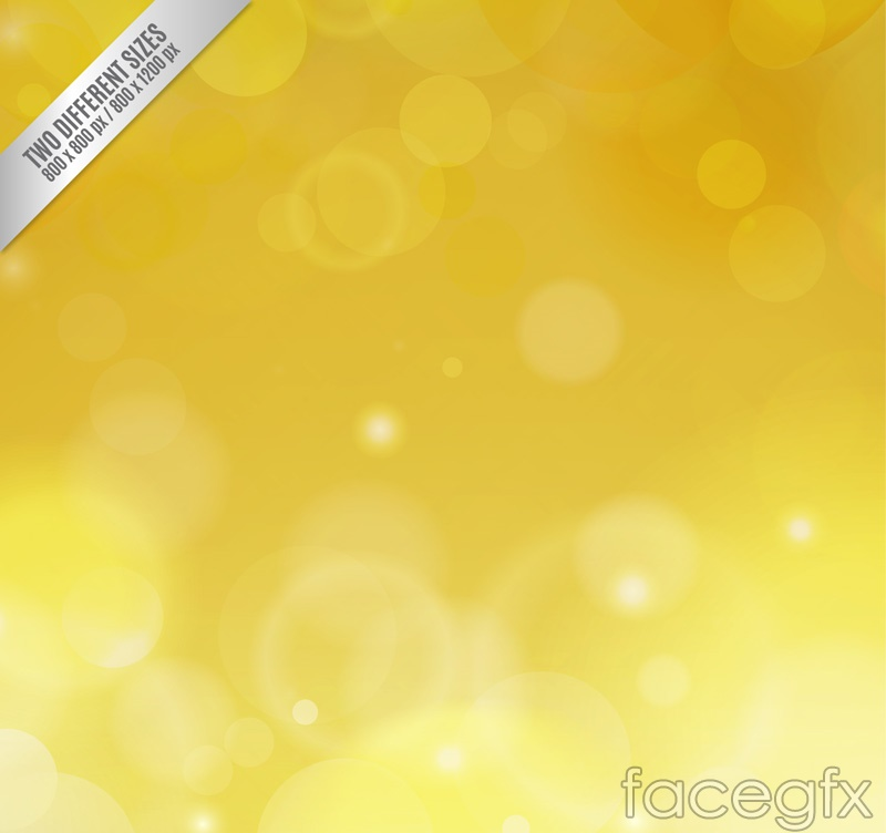 Dream Golden Halo background vector