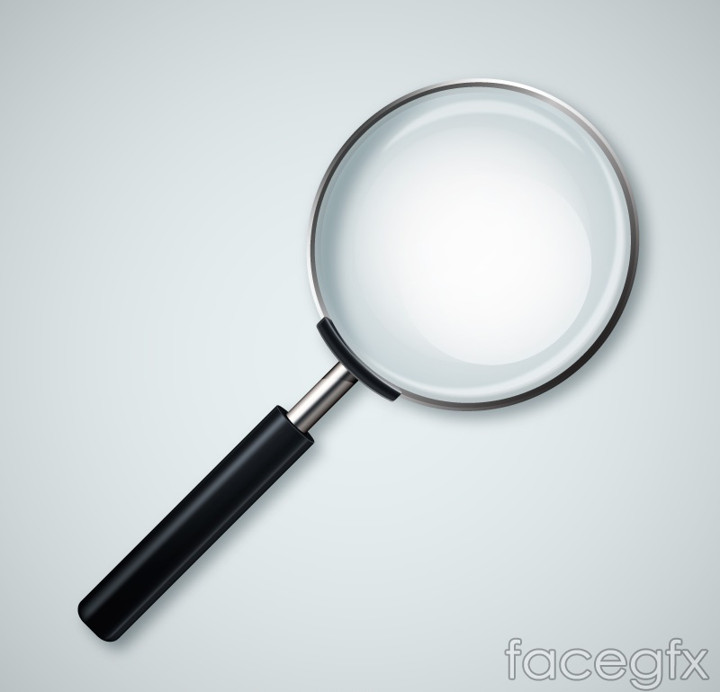 Beautiful Magnifier vector