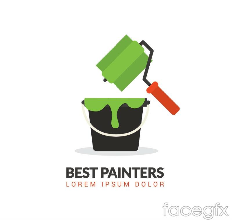 Best painter poster vector graphics