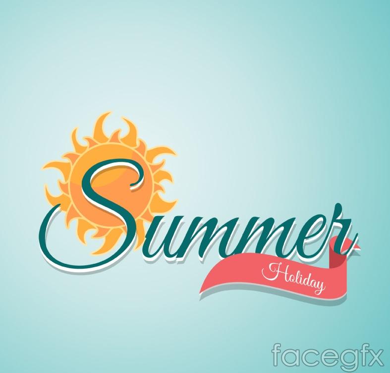 Creative Arts summer holiday vector images