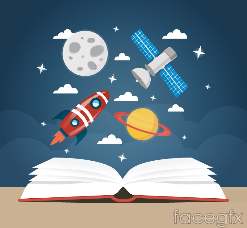 Open books and universe vector