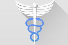 United States medical logo design vector