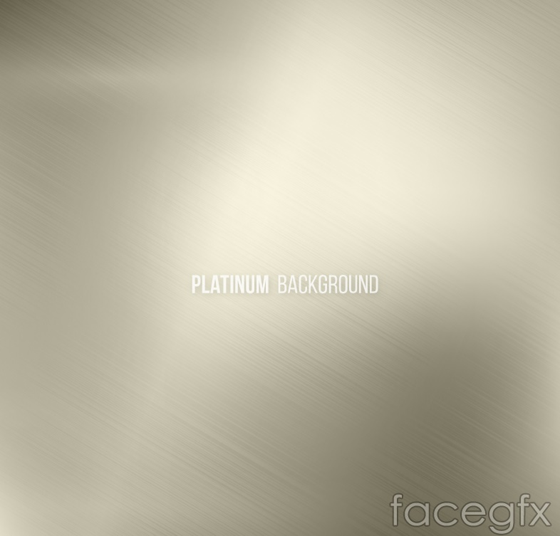 Silver grey brushed background vector