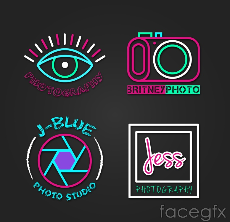 4 Studio logo vector