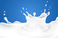 Dynamic liquid milk vector