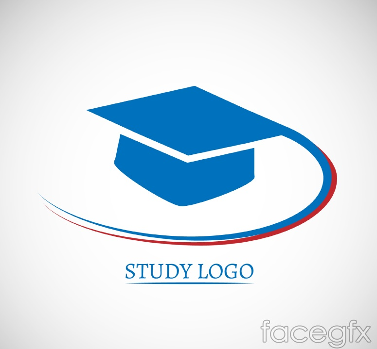 Dr blue caps research logo vector