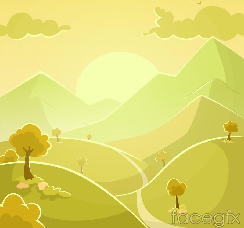 Dream Valley vector
