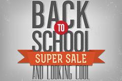 Creative school promotional poster vector